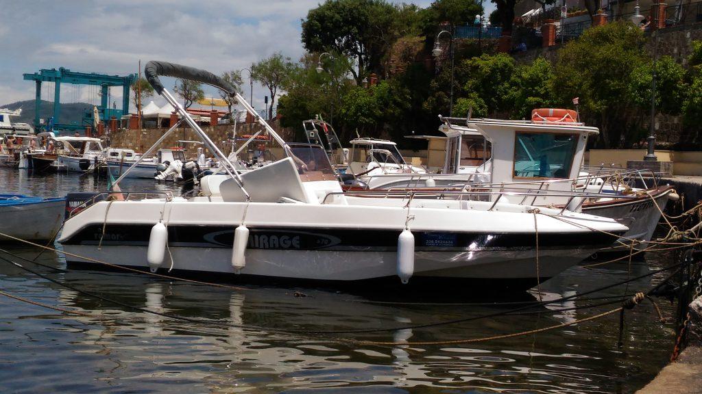 boat rental in Castellabate 40cv